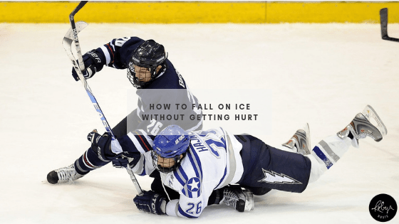 How to fall on ice without getting hurt header
