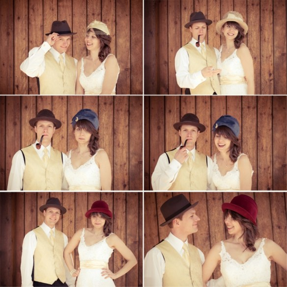 The Time I Got Married Vintage Hats