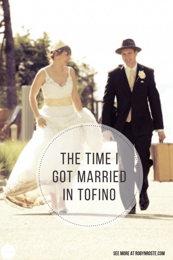 This is the story of the time I got married in Tofino BC. It was a beautiful sunny spring day and we got married on the beach at Cox Bay.