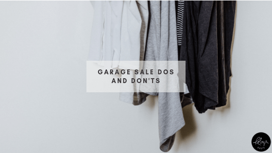 Garage Sale Dos and Don'ts