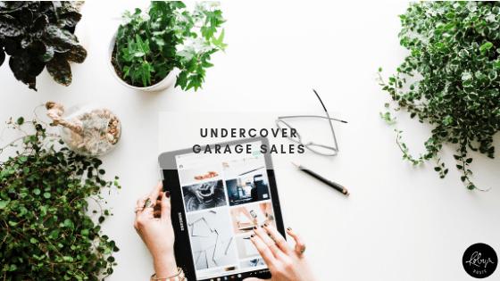Undercover Garage Sales