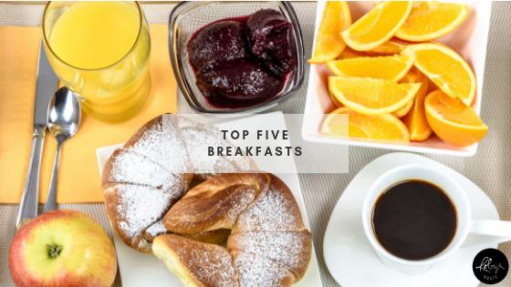 Top Five Breakfasts