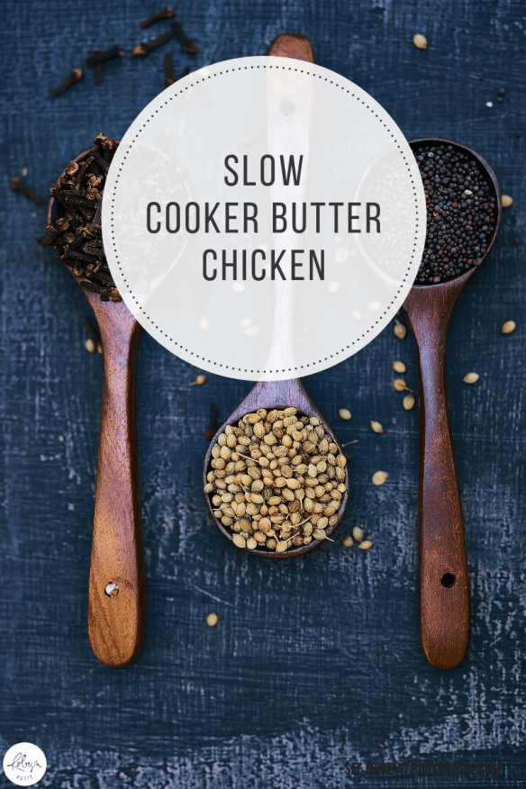 I decided making slow cooker butter chicken would be an excellent use of my time. Those different Indian spices are sure tasty when they go together.