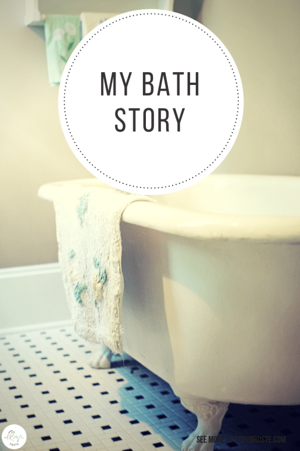 Prepare yourself, my bath story is real. And what you're about to read happened. This is the bathtub I think of every time I consider having a bath.
