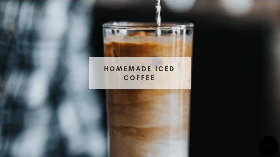 Homemade Iced Coffee