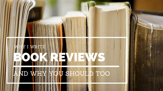 I wanted to address the main reasons why I write book reviews. To keep reading, to further my education, and to stay connected to the writing community.