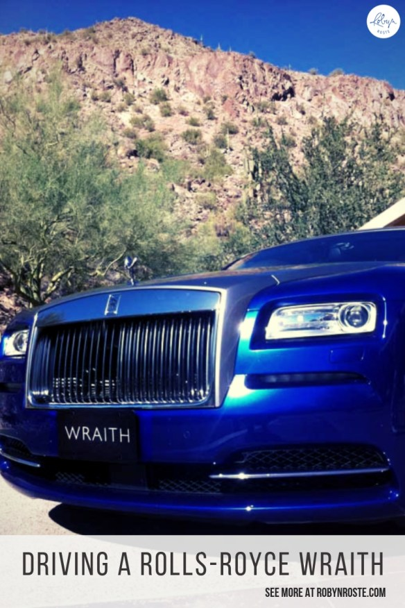 Did we see the mountains or the photo spots? No. Did we drive those famous winding Arizona roads? Nah. But did we DRIVE A ROLLS-ROYCE WRAITH? Heck yes!