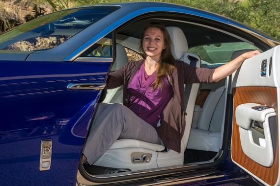 Rolls-Royce Wraith test drive
