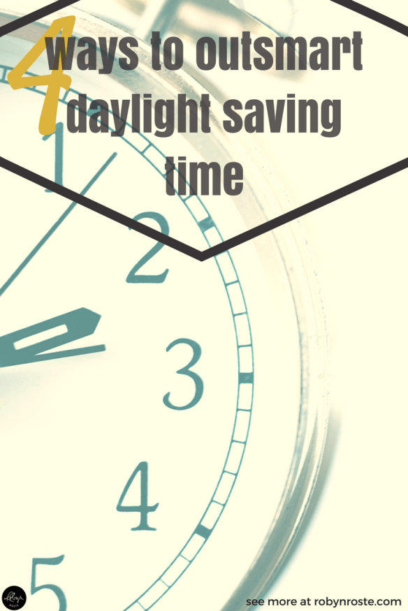 Spring Forward. It affects many of us in this world and seems to bring with it a sense of fear and trepidation. And grumpiness. However, there are ways to conquer the impending loss of sleep and even feel good about getting up a bit earlier. To help, here are four ways to outsmart daylight saving time.