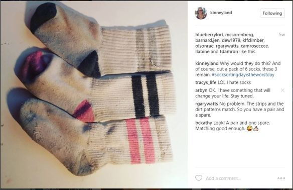Kinneyland sock capture