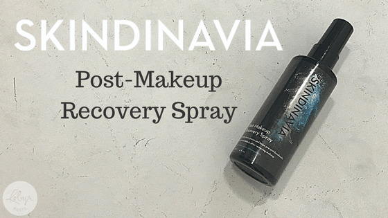 Skindinavia post-makeup recovery spray
