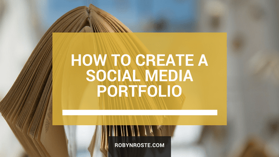 How to Create a Social Media Portfolio