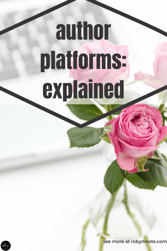 If you Google What is an author platform? you'll see many, many sort-of answers. Because this isn't a simple question. But I'm still going to try and answer it.
