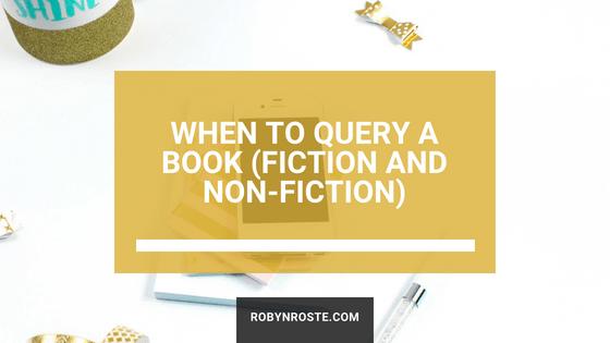 When to query a book