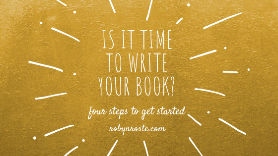 is it time to write your book