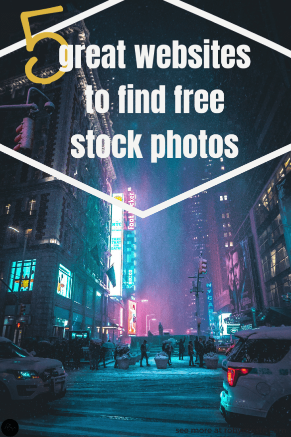 These days there are endless sites to get amazing free stock photos. There are so many sites offering royalty-free images there is no longer any reason to take any old image from the Internet and use it on your website.
