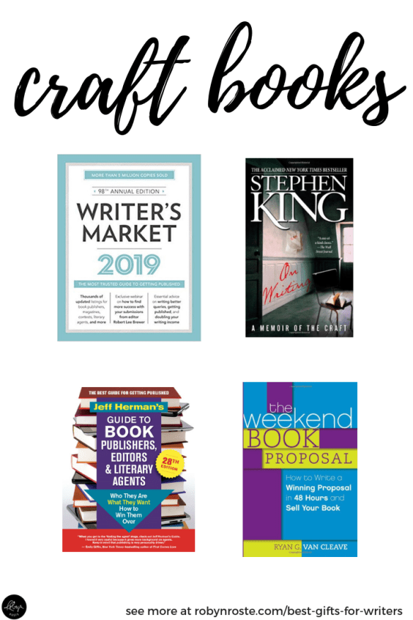 Books on the craft of writing are great gifts for writers! These are a few of my favourites.