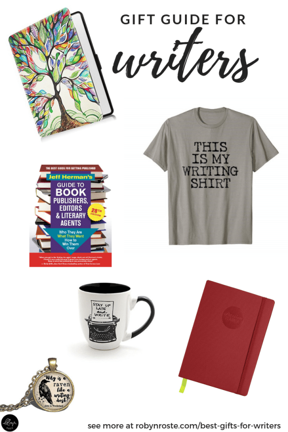 Oh no! You drew THE WRITER for your gift exchange and you have no clue what to get. Help! What are the best gifts for writers anyway? Is there a GIFT GUIDE?
