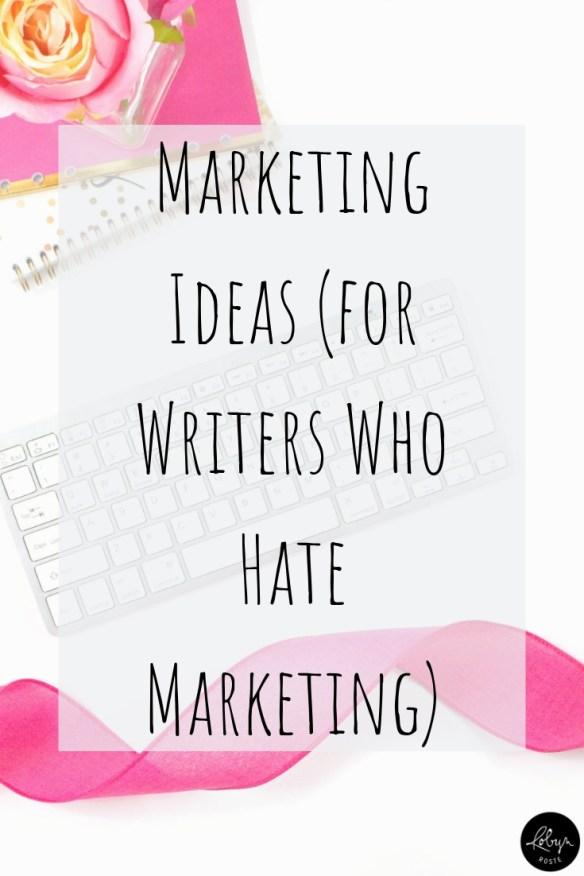 It's not like I haven't written about marketing ideas or argued why writers need to pay attention to marketing before but it just seems to keep coming up.