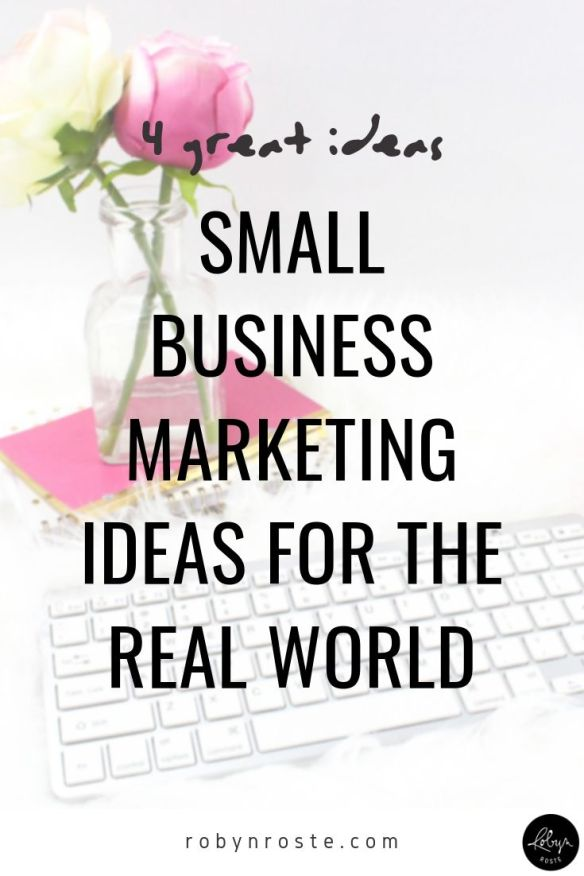 In order to be profitable you need to make sales, so you're always looking for new and improved small business marketing ideas. Or at least you should be. Today we're talking about real-world strategies you can use to promote your online business.