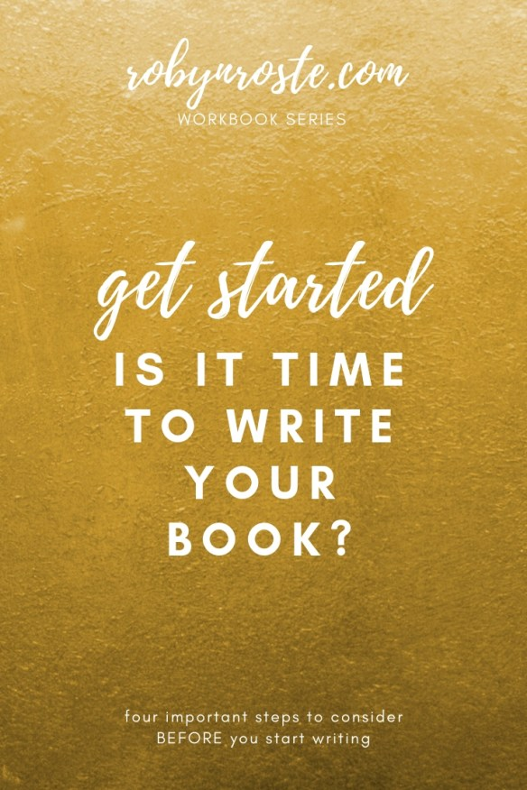 Want to write a book? This workbook will guide you through the four steps you need to take BEFORE you start writing your book.