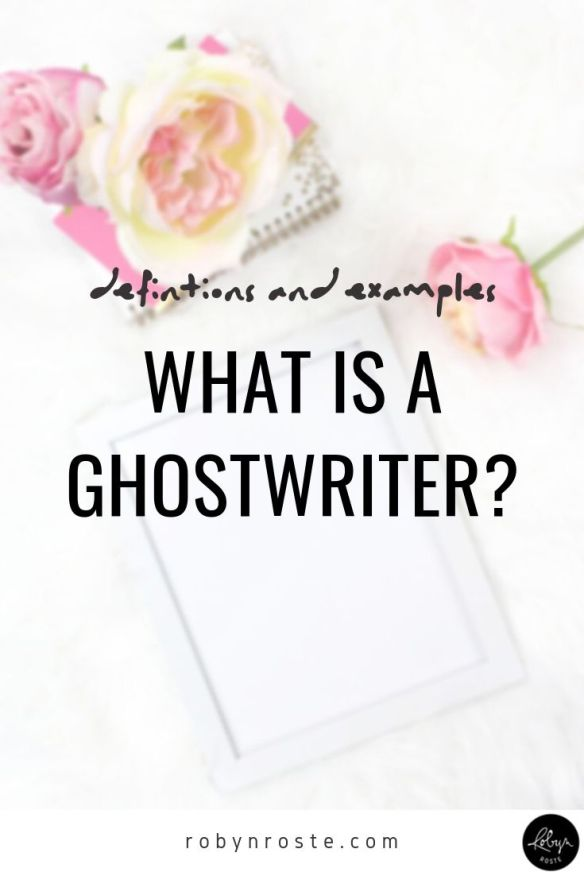 """What is a ghostwriter?"" At a recent writer's breakfast workshop on book writing and publishing, a writer asked me this. The topic came up as I was giving examples of alternative publishing options to."