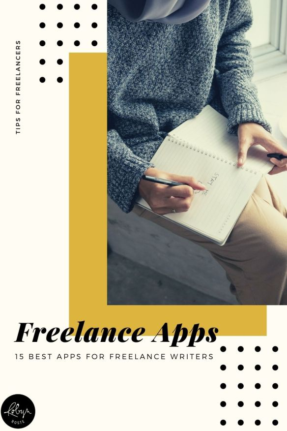 With so many choices, how do you know which apps are time savers and which are time wasters? Here's my roundup of 15 best apps for freelance writers.