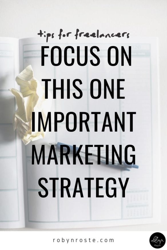 One of the most powerful lessons I've learned is building relationships is marketing. And in my opinion, relationship building is the most important marketing task in growing a successful freelance business.