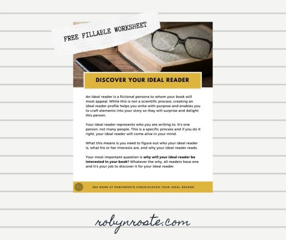 Discover your ideal reader worksheet