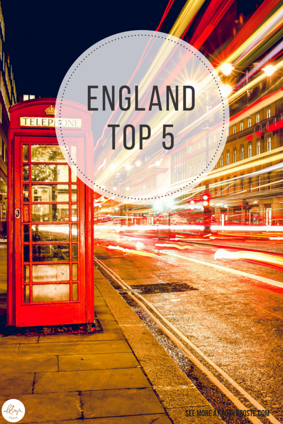After living in England for the past year I've learned a thing or two. And since I like top five lists I thought I'd put everything together in this little ditty for your enjoyment, education, and edification. Not sure about the last one.