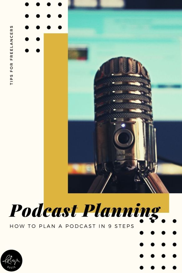 First things first, this is not a technical how-to create and produce a podcast guide. This is the step you take before that. Yes. I'm saying think about your podcast ahead of time and develop a strategy. AKA this is a training on how to plan a podcast.  Free podcast planning worksheet included!