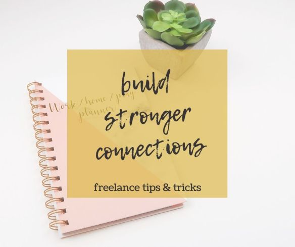 Build stronger connections