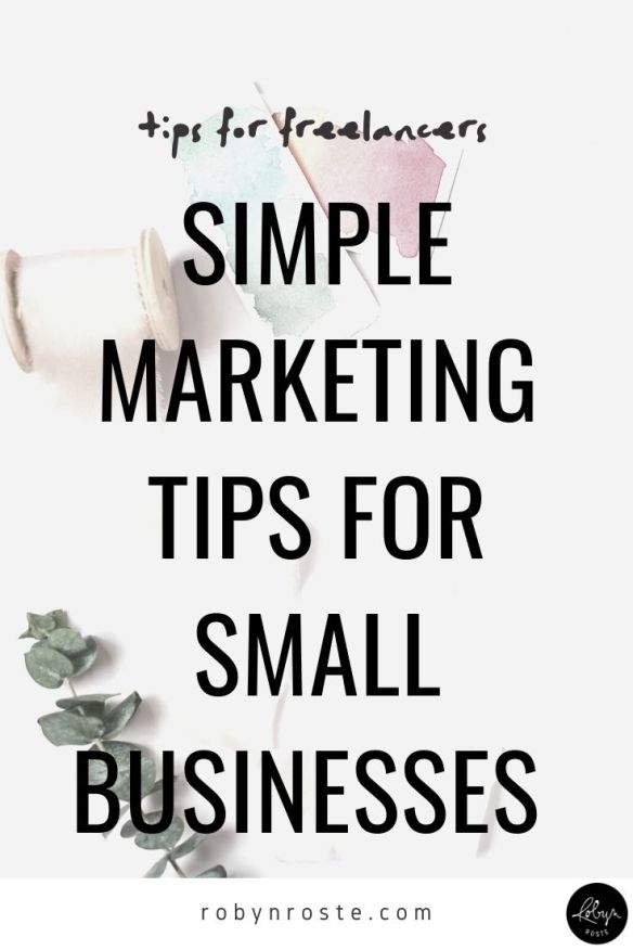 There are a lot of options when it comes to marketing your small business but these four simple marketing tips are ones you can implement today. I know I sound like a broken record, but you have to keep your marketing machine running. Even though you're too busy and you hate marketing. Let's agree to choose one thing from this list and implement it today. Deal?