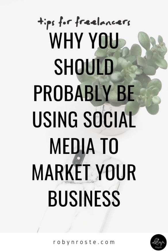 While it's important to choose tactics that work for you and your personality in your freelance writing business, social media marketing can do a lot for discoverability and shouldn't be overlooked.