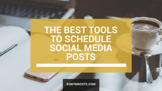 best tools to schedule social media posts