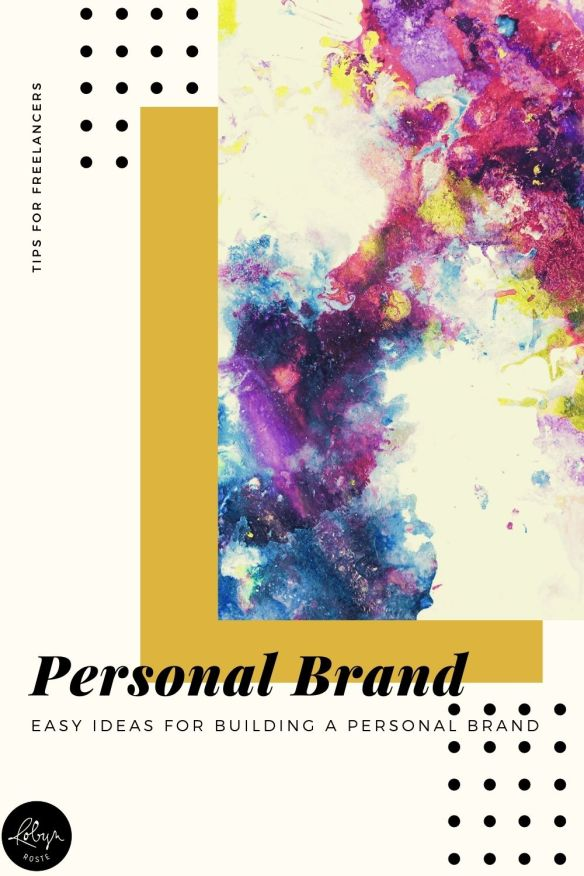 One of the trickiest parts about establishing yourself and building a personal brand is actually deciding what that brand will look like. Here are a few tips for navigating the process. It's not comprehensive but hopefully a starting point to start building your brand.