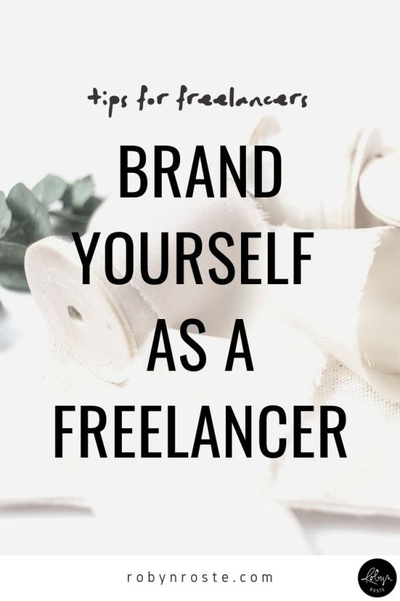 Building your brand as a freelancer is key in order to both keep clients coming back and bring in new clients. Branding has revolutionized my business.