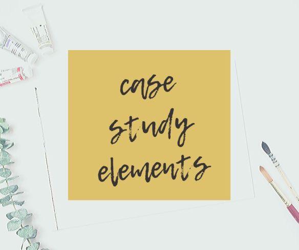 case study elements