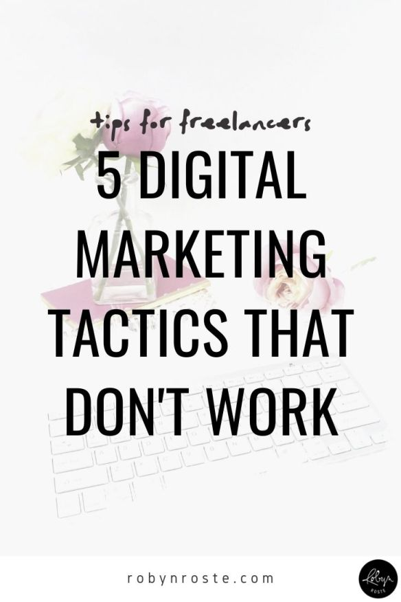 If you're doing business online then you know you need an arsenal of digital marketing tactics in your marketing plan.   But which ones should you use? Which ones work? And what about the kind of smarmy ones...if they work, should you use those too?