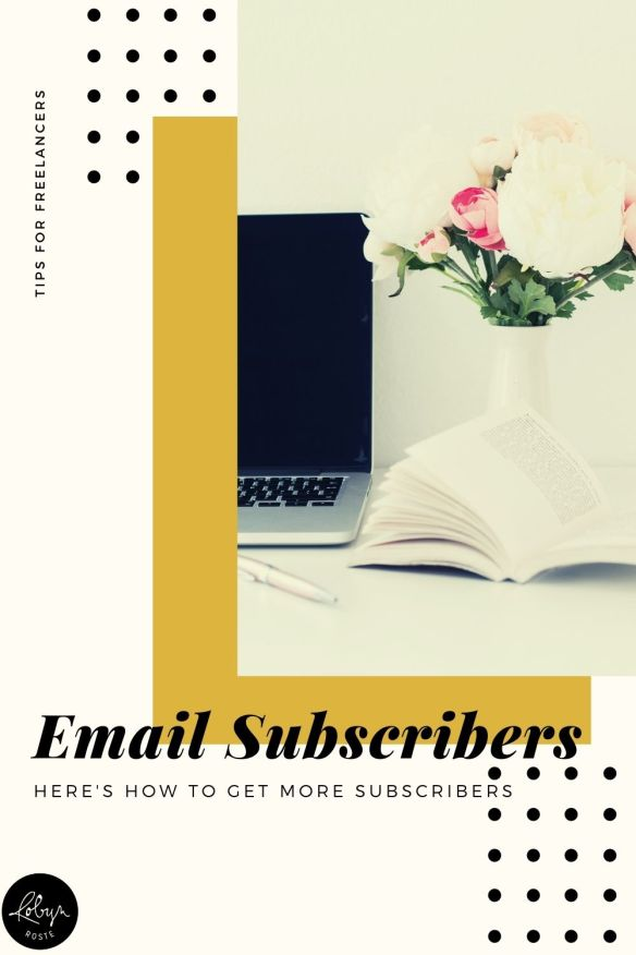 It's time to get more email subscribers. Because what's the point in doing all the work of setting up a list if you aren't talking to anyone?