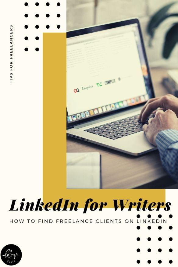 If you're a freelance writer you may have heard people recommend trying to find clients on LinkedIn. And there are good reasons, it's time to get on board.