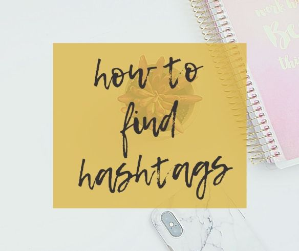How to find hashtags
