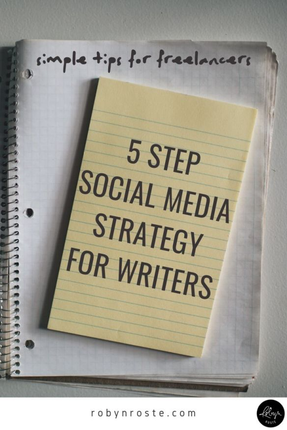 Here's your five step social media strategy, aka what to focus on when you don't have time to be social. Stop being overwhelmed and start marketing!
