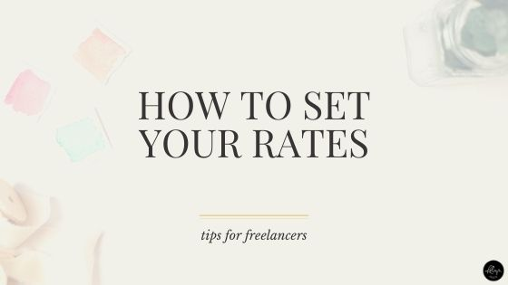 How to Set Your Freelance Writing Rates So You Actually Make Money