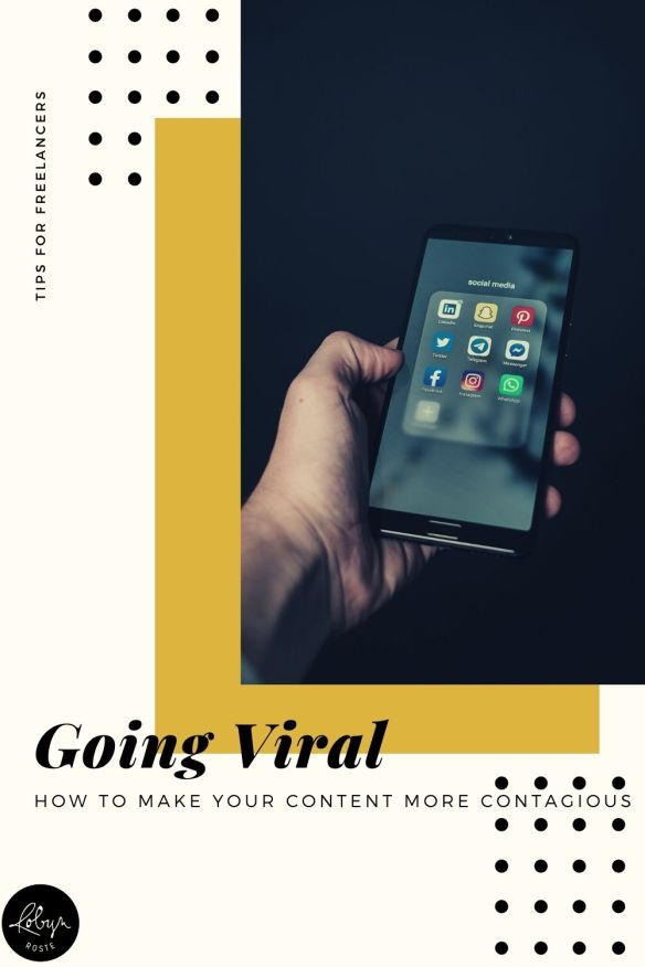 Have you ever wondering what makes something go viral? Learn what going viral means and a few tips for what you can do to make your content more contagious.