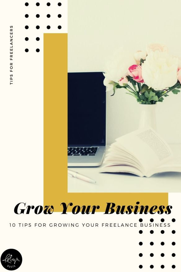 When you think about growing your freelance business, what comes to mind? More clients? More money? More flexibility? More time? Whatever it is, there are good reasons to think about growth, even if you want to stay small.