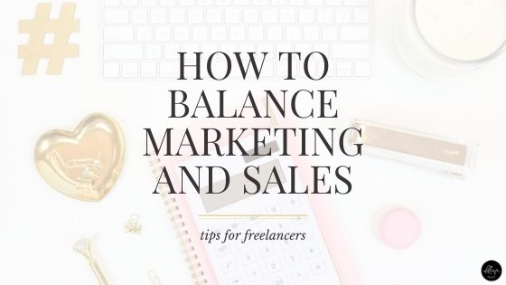 How to Balance Marketing and Sales