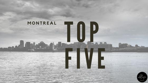 montreal top five