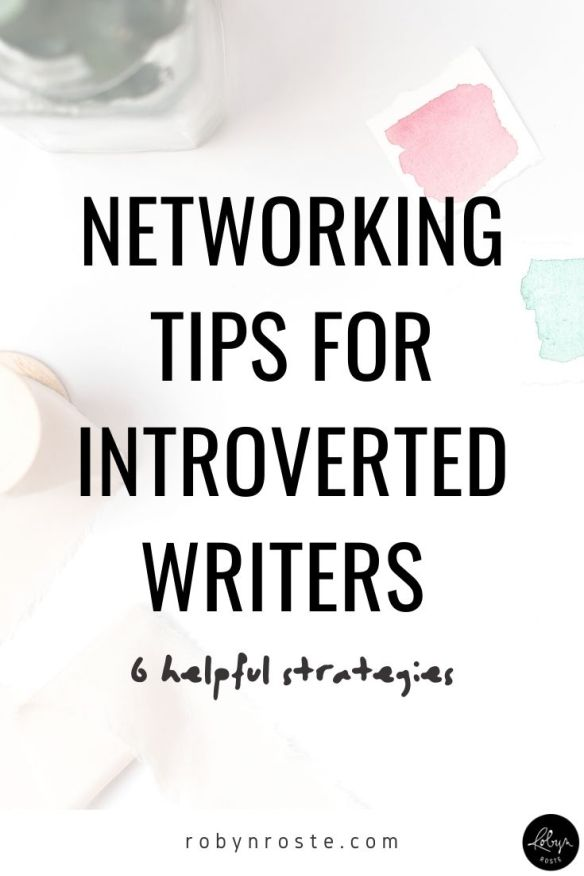 Here are a few networking tips for introverted writers. Maybe one of these strategies for networking and doing the people stuff will work for you.