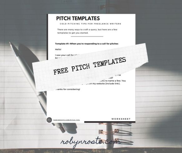 free pitch templates